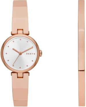 DKNY Soho Giftset – NY2811, Rose Gold case with Stainless Steel Bracelet