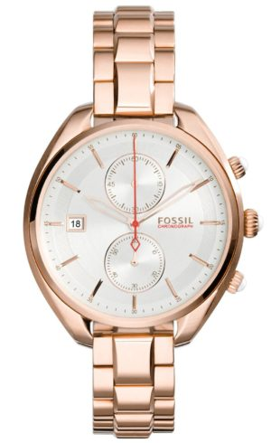 Fossil Land Racer – CH2977 Rose Gold Plated case, with Rose Gold Plated Bracelet
