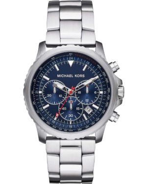 MICHAEL KORS Theroux Men's Chronograph – MK8641, Silver case with Stainless Steel Bracelet
