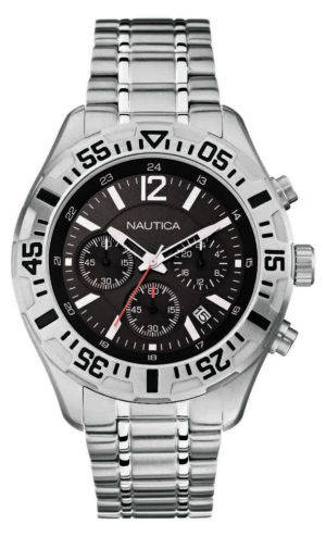 NAUTICA Nst 402 – A19628G Silver case, with Silver Steel Bracelet