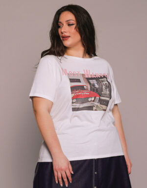 T-Shirt MOST WANTED, Plus Size